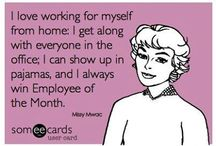 Genealogy Biz: Work From Home / Ideas, humor, suggestions, irony and all that is... working from home on your genealogy business.