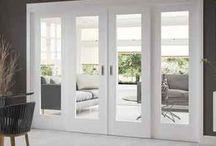 Double doors for front room