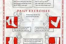 Exercises and posture