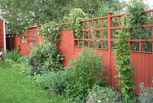 plank och staket, fence
