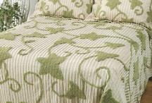 Chenille Bed Spreads / by Michelle Davis