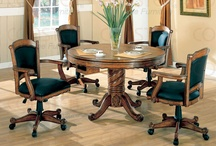 Game Room Tables / Home game room tables and chairs on casters