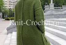пальто с изнаночными швами
