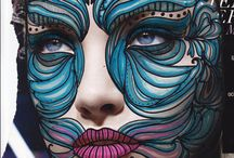 Face body art