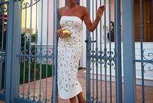 Short and medium dresses
