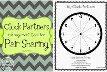 Classroom Discussion / Think pair share clock