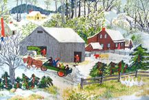 Art- Grandma Moses / Sharing the artwork of Grandma Moses