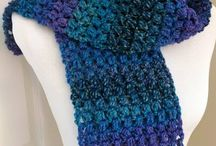 Crochet Scarves/Cowls
