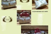 Miniature Bags, Purses & Totes / by Wanda Waterfield