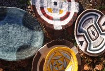 ciotole e piatti di cartapesta / cartapesta