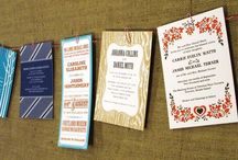 Design - Invitations/announcements/save the dates / by nutmegan821