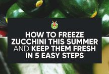 Freezing Vegatables