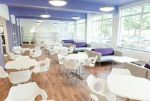 Kingston University / GS Recent Installation at Kingston University, Student Union Social Space and Offices