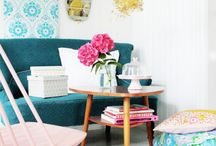 Interior Spaces / Fun ways to decorate little spaces in your home. / by Say Hello