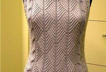 Одежда спицами