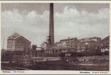 Důl Krimich / Důl Krimich / Krimich Schacht. Důl Krimich byl předán do provozu v roce 1869.