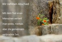 Abschied/ Tod