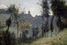 Jean Baptiste Camille Corot / cuadros del artista Jean-Baptiste Camille Corot