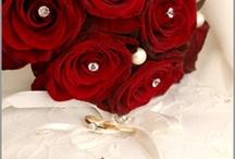 gemmas red n gold wedding