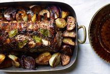 Pork / Main course recipes made with pork, sausage, ham or bacon.