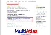 Posicionamiento Web / ¡¡Nuestros clientes posicionados en primeras posiciones en Google!!