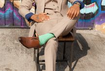 Suits and shoes / Suits and shoes, ties, socks and glasses..