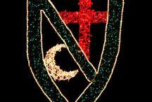 Iluminación Moros y Cristianos / Ofrecemos alumbrado ornamental ideal para ayuntamientos y asociaciones relacionadas con estas Fiestas  #MorosyCristianos #fiestas