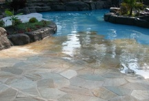 BACKYARD AND POOL IDEAS / by Shelly Smith