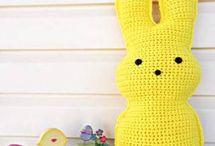 Pascua Amigurumi gratis