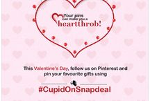 #CupidonSnapdeal / Follow us and pin products you want to gift your loved ones with #CupidonSnapdeal and stand a chance to win!