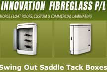 Tack Boxes / Our #Tack #Boxes are easy to clean and easy to install. We have models for both straight loader and angle loader floats.