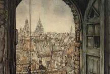 Anton Pieck illustration