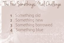 'The four somethings' Nail Challenge / -