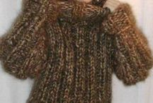 Laine / Wool / Vêtements et accessoires tricotés que j'aime.