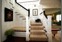 carpet runner for stairs / by Jeanne Perozek