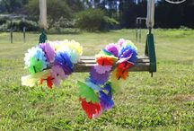 FIESTA HAWAIANA / Decoración DIY para fiesta hawaiana