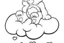 Care Bear | Coloring Sheet / Kleurplaten / by care bears