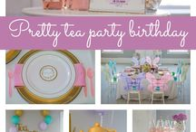 Tea Party for girls / Pretty Tea party for girls by Sabrina Seymore Events! Thank you AS22 Photography for the beautiful photos ;-)