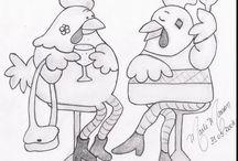 desenhos para panos