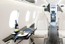 Esther  - Interior of private jet