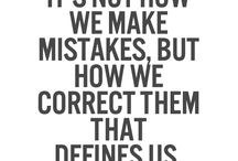 Mistakes we make / We all make mistakes, its what makes us better humans✌️