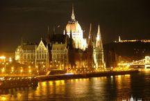 Illuminated Budapest