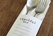 Thanksgiving AKA Turkey Day / by Ellen