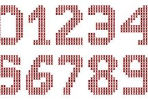 alfabeto/numeri punto croce