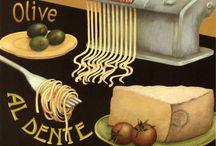 Les délices de Toscane / les merveilles de la gastronomie italienne et de Toscane en particulier