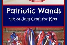 Patriotic Holidays / Ideas for all Patriotic holidays including Memorial Day and the 4th of July!  A big focus on red, white and blue