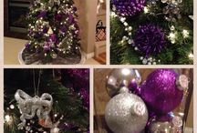 xmas 2015 purple & silver