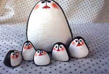 pingouin caillou