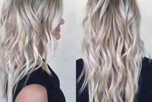 Lyst hår
