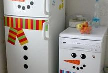 Christmas -- Kitchens / christmas christmas christmas kitchens decor decorating ideas holiday decor / by Mariel Hale